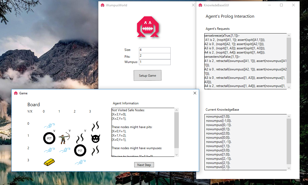 Download web tool or web app WumpusWorld-CSharp to run in Windows online over Linux online