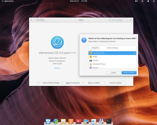 Free Linux hosting based on elementary OS online