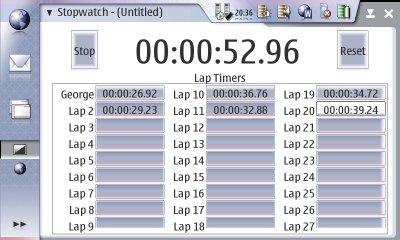 Download web tool or web app Stopwatch Logger to run in Linux online