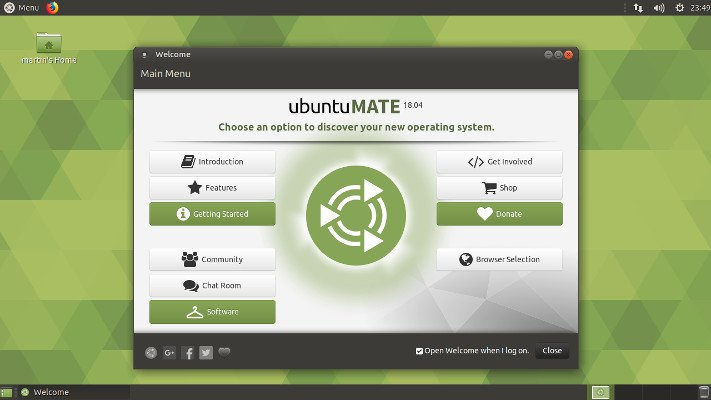 Free Linux hosting based on Ubuntu MATE online