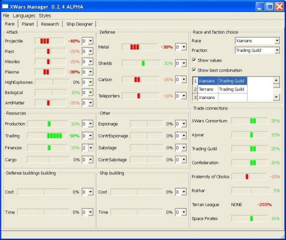Download web tool or web app XWars Manager to run in Windows online over Linux online