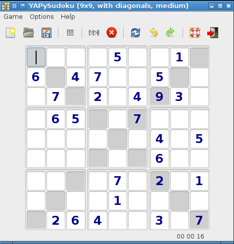 Download web tool or web app Yet Another Python Sudoku puzzle game to run in Linux online